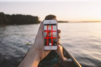 Grid use for taking better iPhone images of your family and children