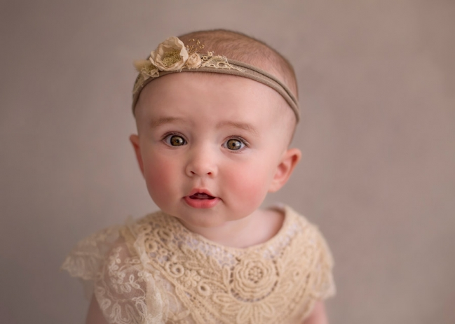 Baby Perth close-up portrait