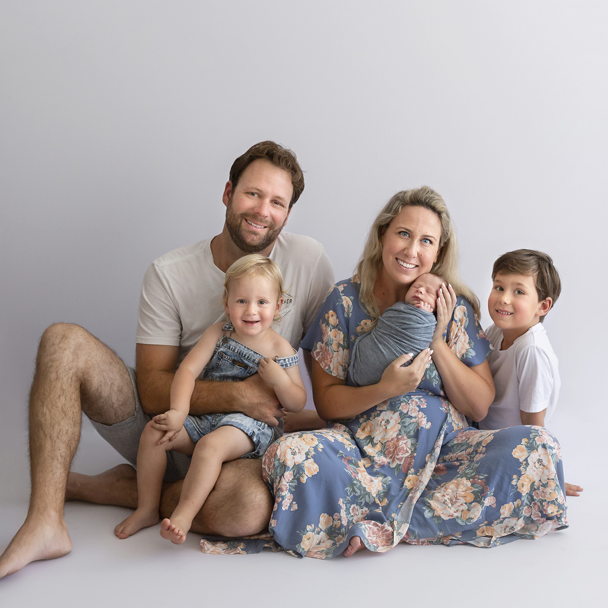 Beautiful words about their newborn and family photo session experience
